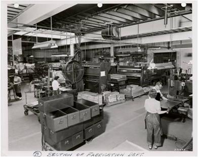 Photograph of former manufacturing facility at the TCAAP